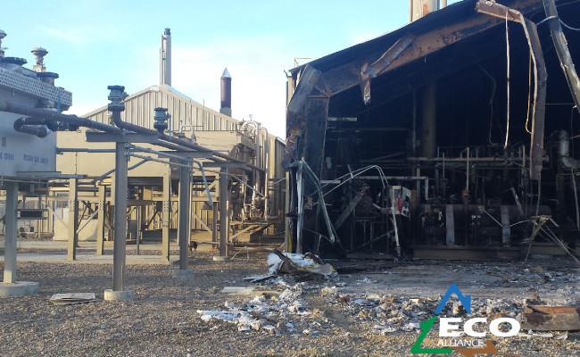 Burnt Compressor Building-04