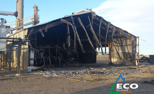 Burnt Compressor Building-06