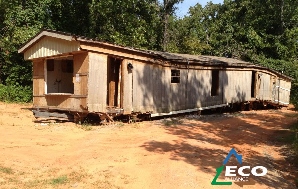 Before & After: Mobile Home