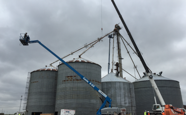 Grain Storage Facility Demo TX_3