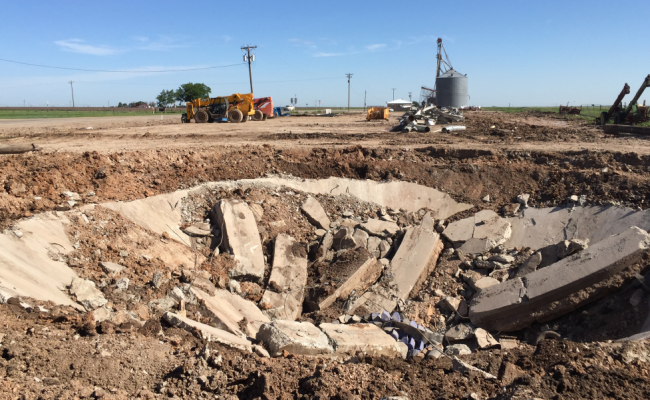 Grain Storage Facility Demo TX_4